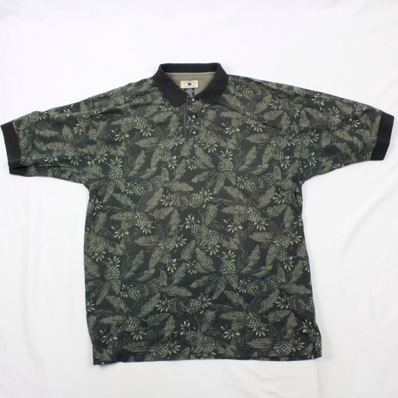 Cutter Buck Shirts Cutter Buck Pineapple Golf Polo Adult Extra